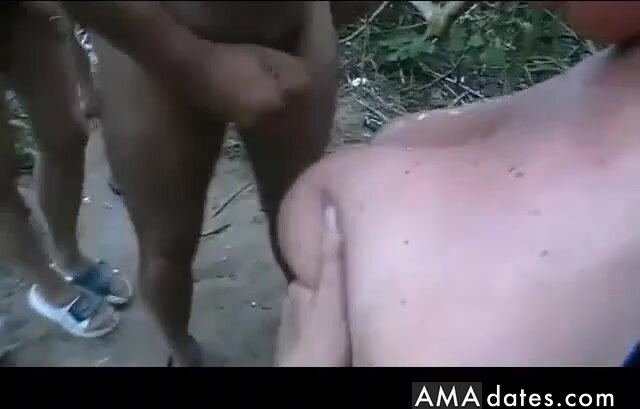 Granny taking cum from strangers at the beach.