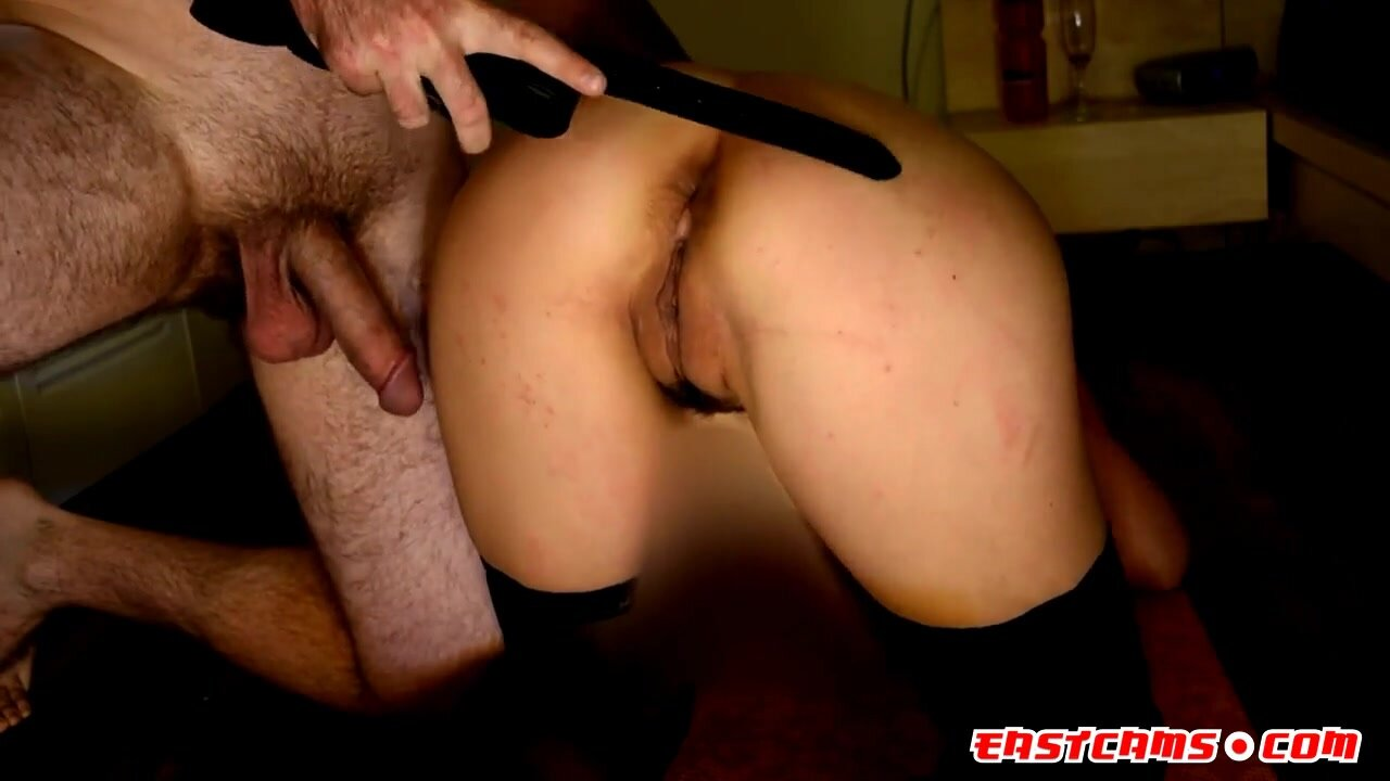 Girl Gets 50 Belt Strokes on Her Ass & Pussy 2